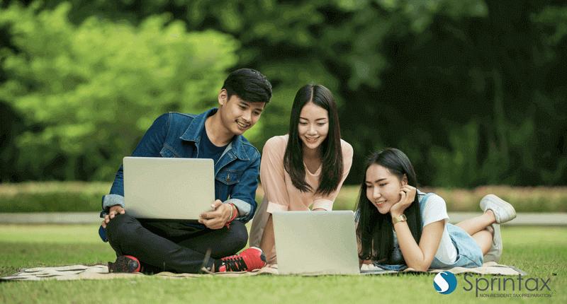 International student doing their US tax return