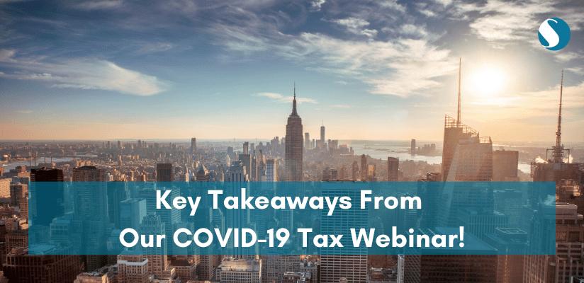 Sprintax COVID-19 tax webinar