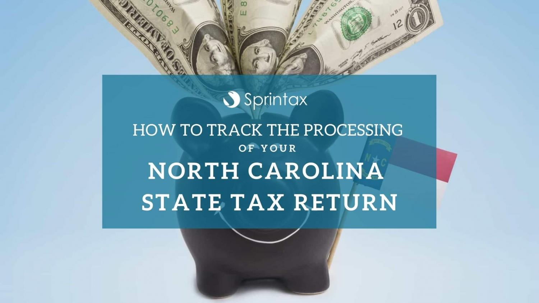 Check status of North Carolina state tax return