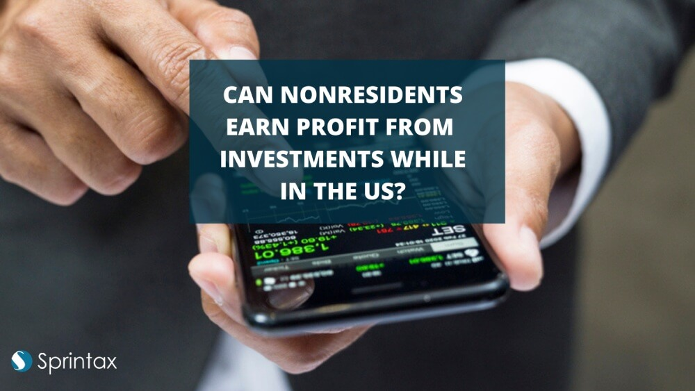 US nonresidents earn investment income