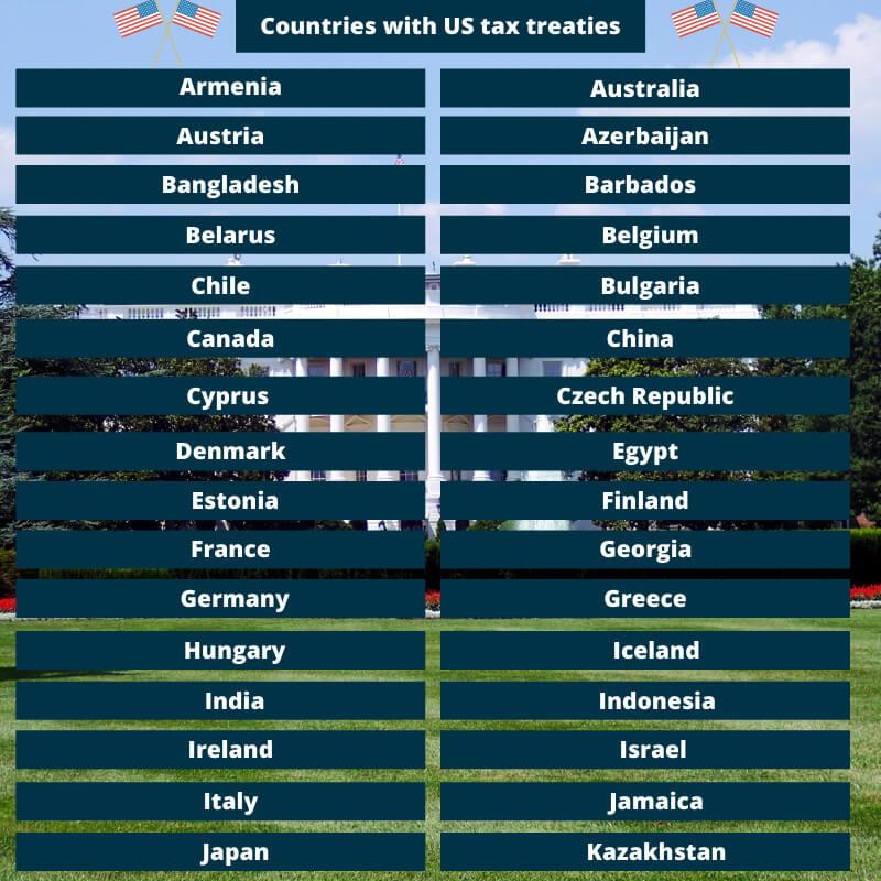 US tax treaty countries 1