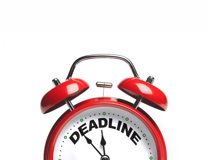 tax deadline clock
