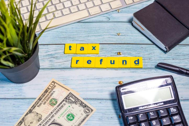 getting a tax refund